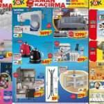 ŞOK 28 Temmuz aktüel ürünler kataloğu! Dikiş makinesi, kanepe raflı, dolap bebek ürünlerinde
