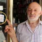 Trabzon'da bir esnaf dükkanına bu yazıyı astı, aylık cirosu arttı!