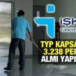 İŞKUR TYP ile en az ilkokul mezunu 13.238 personel alımı yapıyor!