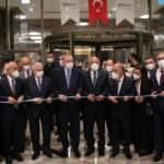 Cumhurbaşkanı Erdoğan, Mersin'de bir otelin açılışını yaptı