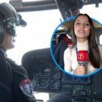 Haber7 TEKNOFEST'te jandarma helikopterinde
