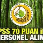 Orman Genel Müdürlüğü en az ortaöğretim mezunu personel alım ilanı! Başvurular resmen başladı?