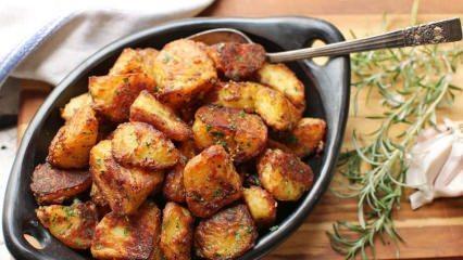 En kolay patates kavurması nasıl yapılır? Patates kavurmasının püf noktaları