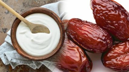 Hurma diyeti nedir? Hem sağlıklı hem kalıcı zayıflatan yoğurt ile hurma diyeti