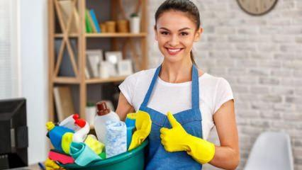 Bayram temizliği nasıl yapılır? Ramazan ayında ev temizliğinin püf noktaları!