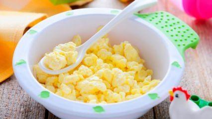 Bebek omleti nasıl yapılır? Bebekler için en kolay ve doyurucu yumurtalı omlet tarifleri