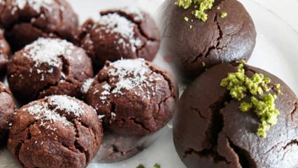 En kolay browni kurabiye nasıl yapılır? Kakaolu ıslak kurabiye tarifi