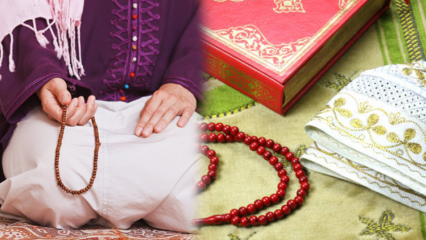 Namaz tesbihatı nasıl yapılır? Namazdan sonra okunacak dua ve zikirler