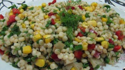 Kuskus salatası nasıl yapılır? Kuskustan en kolay salata tarifi