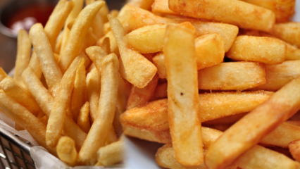 Çıtır patates nasıl kızartılır? Pratik patates kızartması tarifi