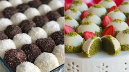 Evde yapılabilecek en kolay tatlı tarifleri neler? Aniden gelen misafirler için pratik tatlılar