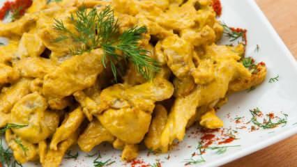 Evde kolay köri soslu tavuk nasıl yapılır? Köri soslu tavuğun püf noktaları