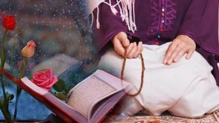 Adetli kadın namazları ve oruçları kaza etmeli mi? Kadınların özel halleri