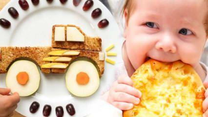 Bebek kahvaltısı nasıl hazırlanır? Ek gıda dönemi kahvaltı için kolay ve besleyici tarifler
