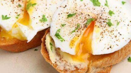 Poşe yumurta nedir ve nasıl yapılır? Poşe yumurtanın püf noktaları