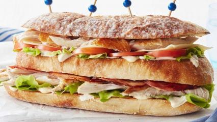 Kulüp sandviç (Club Sandwich) nasıl yapılır? Evde kulüp sandviç tarifi