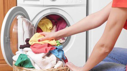 Koyu renkli çamaşırlar nasıl yıkanır? Koyu renkliler ve siyahlar kaç derecede nasıl yıkanır?
