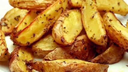 Fırında baharatlı patates nasıl yapılır? En kolay fırında baharatlı patates tarifi