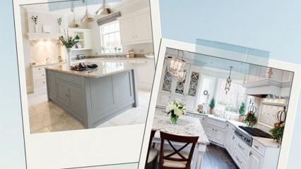 Mutfaklarda geçerli ideal mobilya ve tezgah ölçüleri