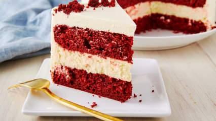 En kolay kırmızı kadife kek nasıl yapılır? Kırmızı kadife kekin püf noktaları
