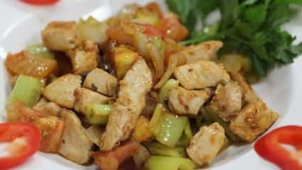 En kolay tavuk sote nasıl yapılır? Tavuk sote yapmanın püf noktaları