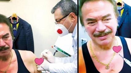 Usta sanatçı Orhan Gencebay koronavirüs aşısı oldu