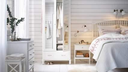 Yatak odaları için en rahatlatıcı duvar renkleri