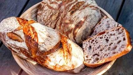 Artizan ekmek nedir ve Artizan ekmek nasıl yapılır? Evde Artizan ekmek yapımı