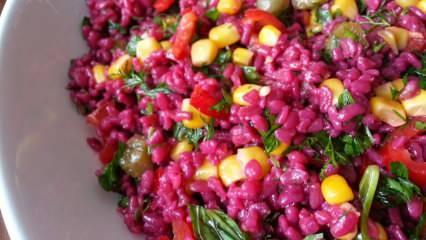 Şalgam suyuyla bulgur salatası nasıl yapılır?