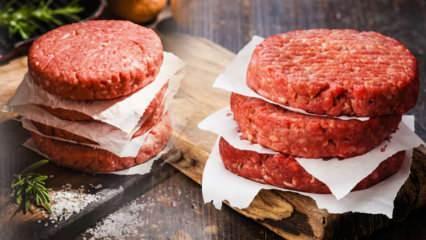 En kolay hamburger köftesi nasıl yapılır? Hamburger köftesinin püf noktaları