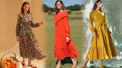 2021 bahar ayları için elbise modelleri! 2021'de trendimizi yükseltecek elbise modelleri