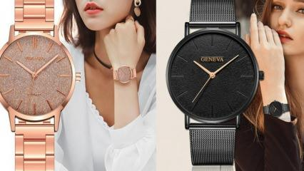 2021 en şık ve en güzel kol saat modelleri! Yeni sezon kol saati modelleri neler?