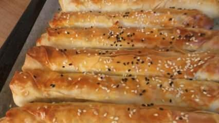 En pratik rulo buzdolabı böreği nasıl yapılır?