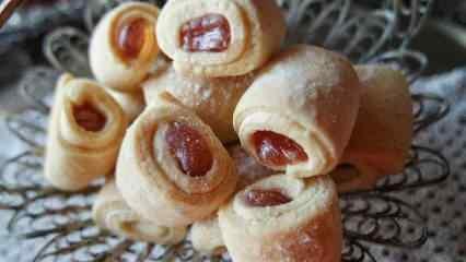 Lokumlu kurabiye nasıl yapılır? Evde kolay lokumlu kurabiye tarifi