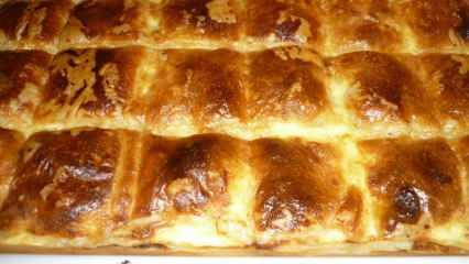 Milföylü yufkalı kıymalı börek nasıl yapılır? Kıymalı milföy böreği tarifi