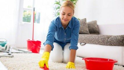 Yün halı nasıl temizlenir?  Yün halı temizliğinde nelere dikkat edilmeli