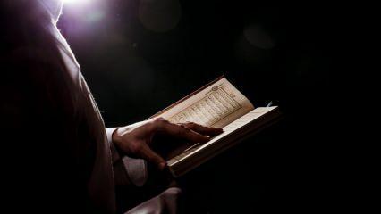 Berat gecesi Yasin okumanın faziletleri! Berat Kandilinde neden Yasin okunur?