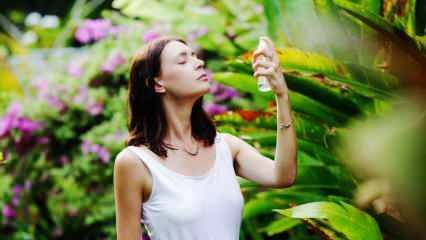 Yüz spreyi ne işe yarar? Ferahlatan ve canlandıran yüz spreyleri