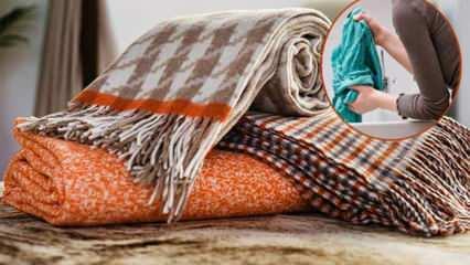 Battaniyedeki lekeler nasıl çıkar? Battaniye lekeleri nasıl temizlenir?