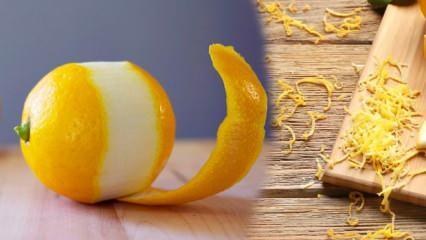 Limon kabuğunun 10 mucizevi faydası