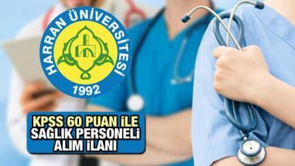 KPSS 60 Puan İle Sağlık Personeli Alım İlanı! Hemşire, Psikolog, Fizyoterapist, Ebe, Laborant...