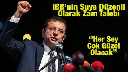 İstanbul'da suya ne kadar zam yapılacak? CHP'li İBB'den suya her ay düzenli zam...