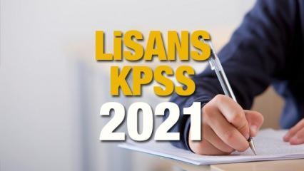 KPSS sınav yeri sorgulama! ÖSYM 2021 KPSS sınav giriş belgeleri erişime açıldı mı?