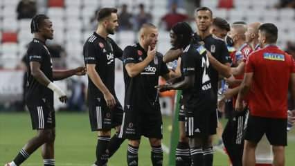 Ligin 5. haftasında Beşiktaş liderliğini sürdürdü