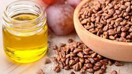 Üzüm çekirdeği yağı faydaları nelerdir? Soğuk pres üzüm çekirdeği yağı cilde nasıl uygulanır?