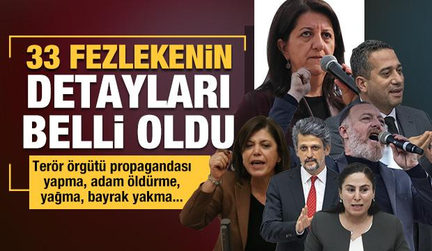 TBMM'ye iletilen fezlekelerin detayları belli oldu: 28'i HDP'li vekiller hakkında!