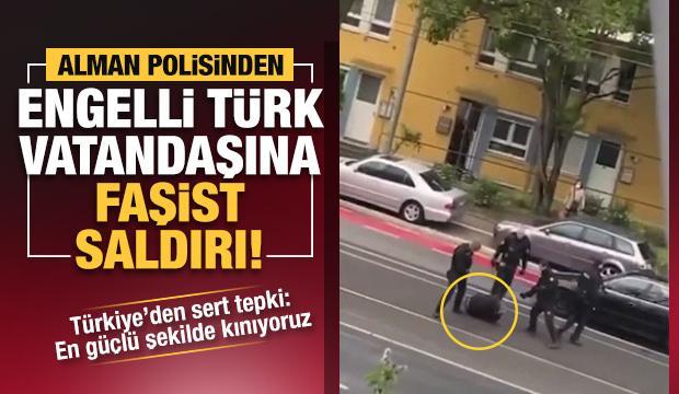 Alman polisi, Türk vatandaşı Selim Çiftçi'yi ailesinin gözü önünde darbetti