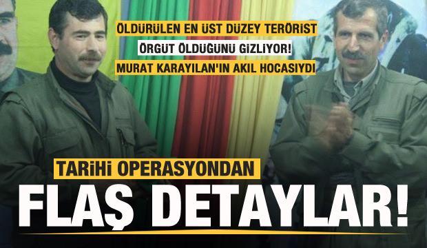 Terörist Sofi Nurettin öldürüldü! Tarihi operasyondan detaylar