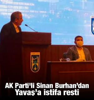 Ankara'da yüzde 250'ye varan zam! AK Parti'li Sinan Burhan'dan Yavaş'a istifa resti