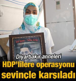 Diyarbakır anneleri Kobani gözaltılarını sevinçle karşıladı